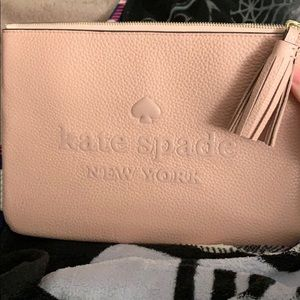 Kate Spade ♠️ Pink Pouch